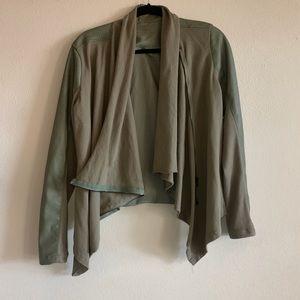 Blank NYC army green jacket